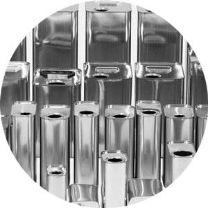Packaging sostenibile: vita e peso di una latta di acciaio